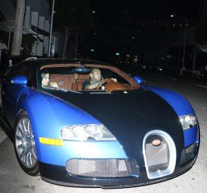 Tyga and a shy seen leaving Mr. Chow in a Blue Bugatti, with ... Actor In A Bugatti on venom gt vs bugatti, flo rida bugatti, xzibit and his bugatti, pink bugatti, drake bugatti, cool bugatti,